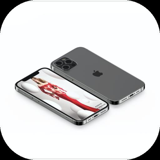 高端iPhone 12 Pro样机展示素材