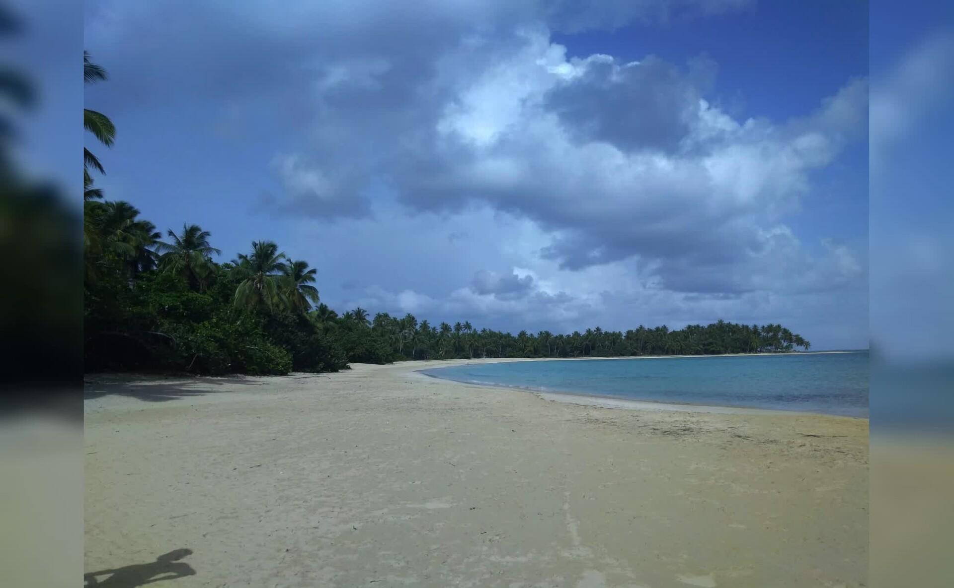 多米尼加共和国海滩风景Mac动态壁纸