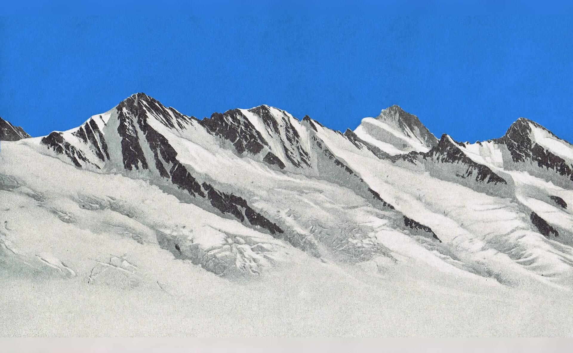阿尔卑斯山脉5K高清Mac动态壁纸