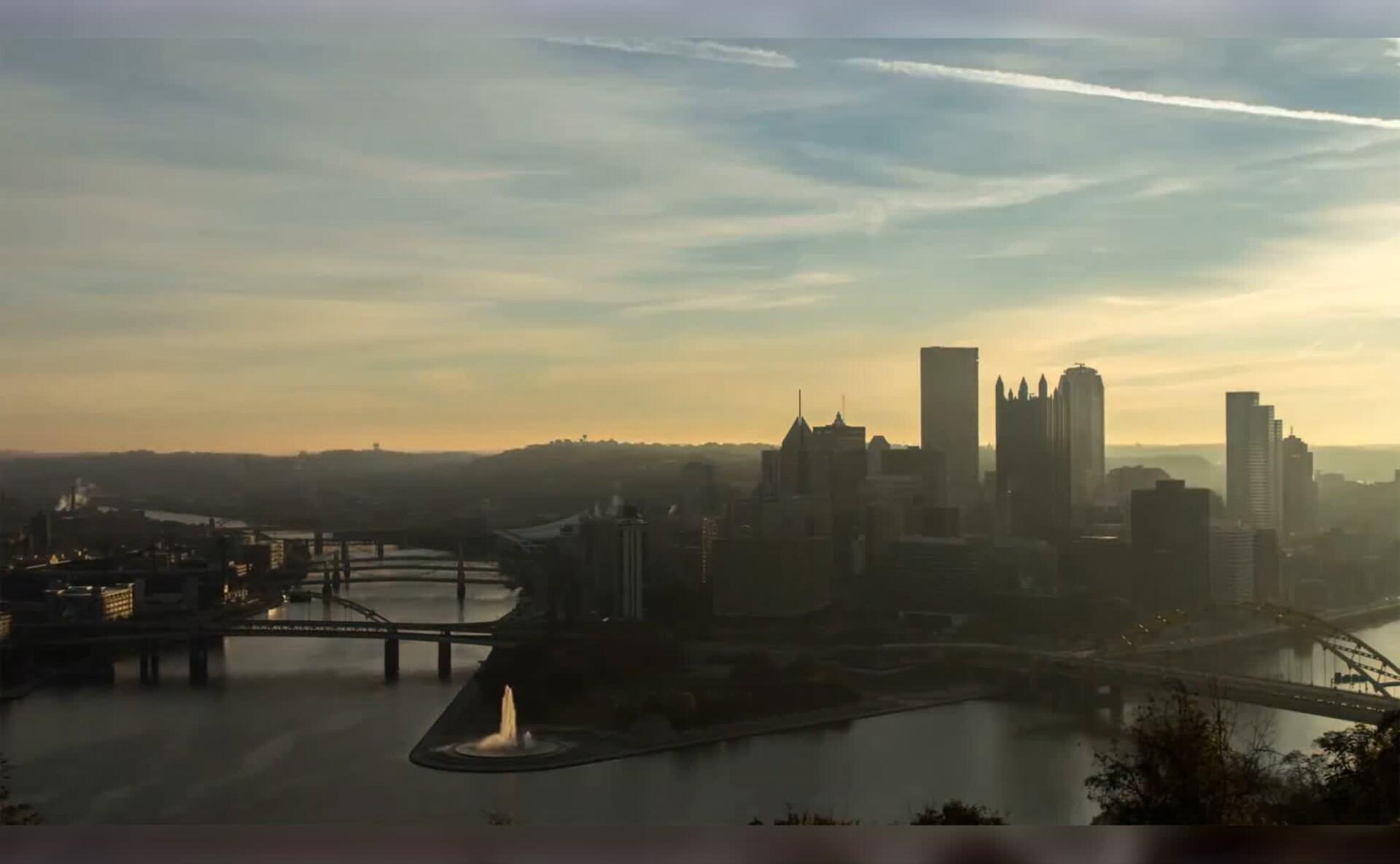 匹兹堡天际线风景Mac动态壁纸