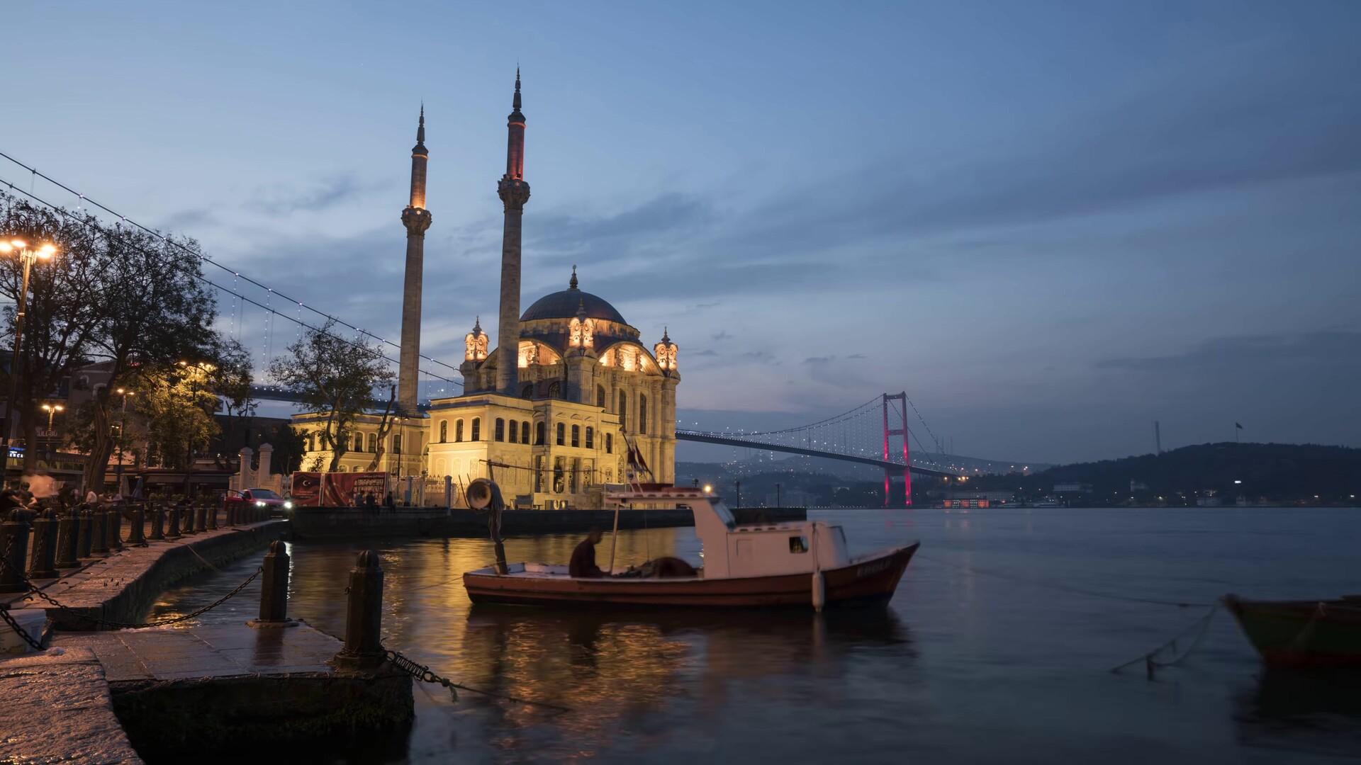 伊斯坦布尔城市风景Mac动态壁纸