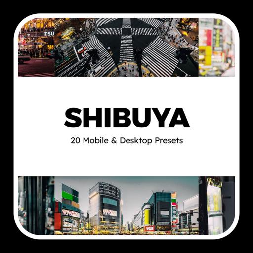 日本涩谷城市摄影系列lut预设包
