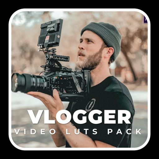 专业Vlog视频摄影调色效果luts预设