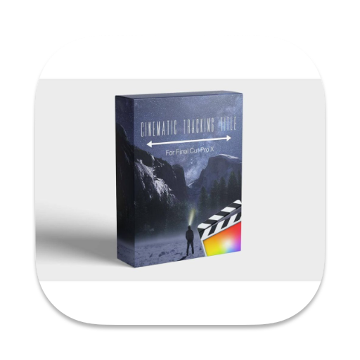 Cinematic Tracking Title for fcpx(电影自适应伸展效果文字标题)