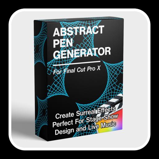 Abstract Pen Animator Mac(抽象线条发生器fcpx插件)