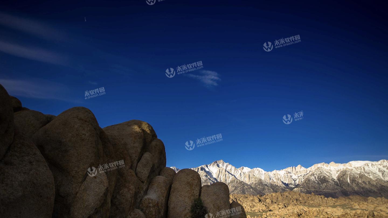 加州阿拉巴马山动态5K壁纸