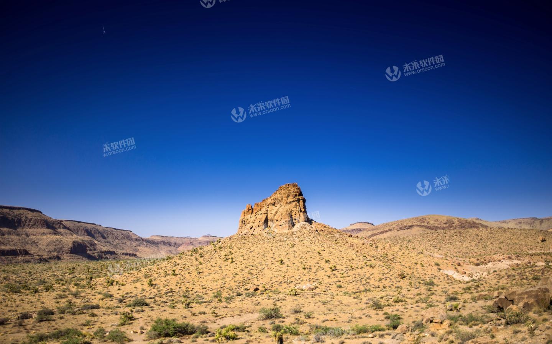 丘陵地带景观3k动态壁纸