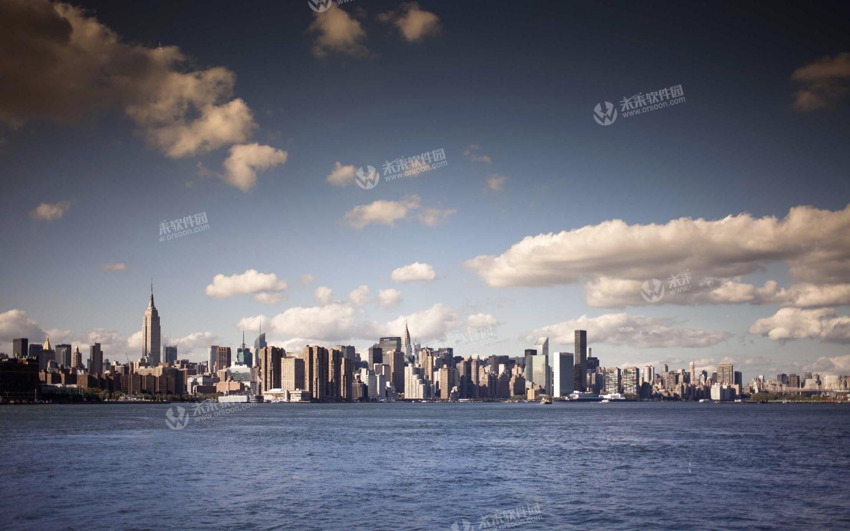 纽约城市风景3k动态桌面壁纸