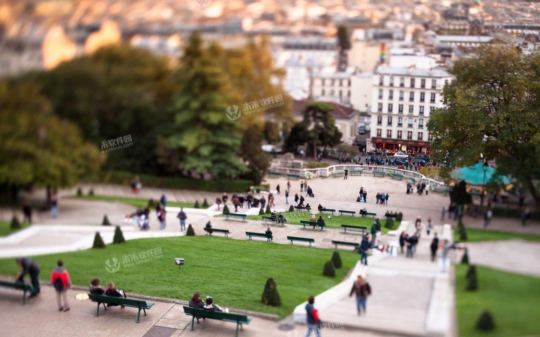 巴黎3K动态桌面壁纸