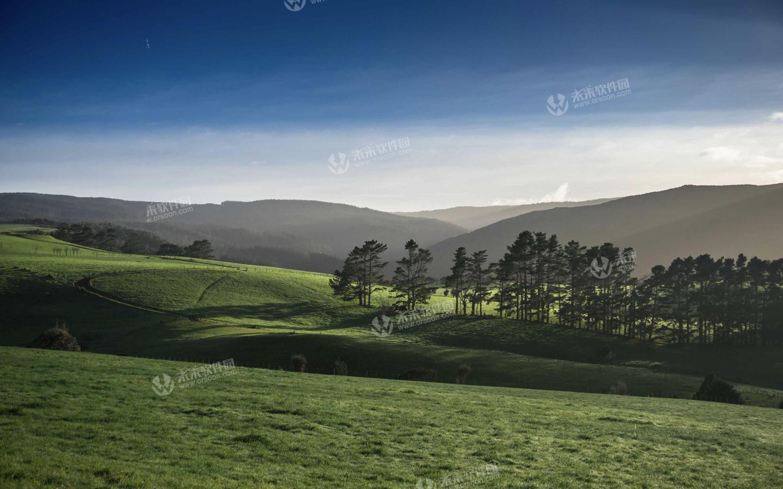 3k新西兰自然风景动态桌面壁纸