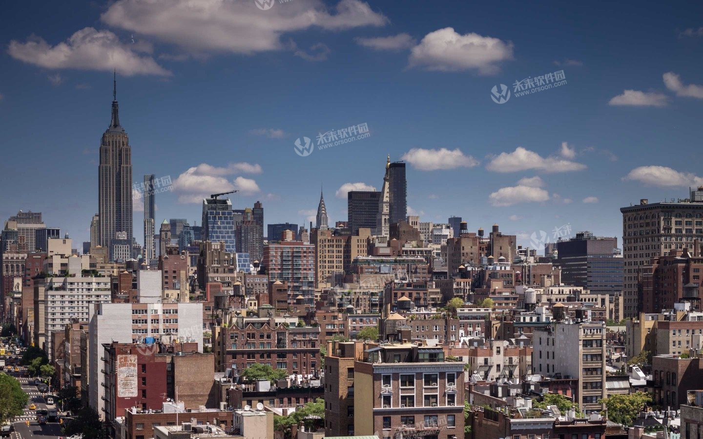 纽约帝国城市3K动态桌面壁纸