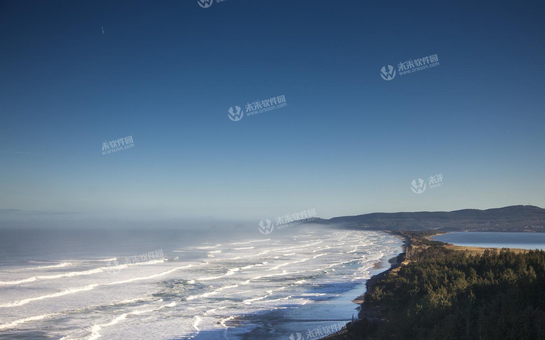 3k海上瞭望台风景动态壁纸