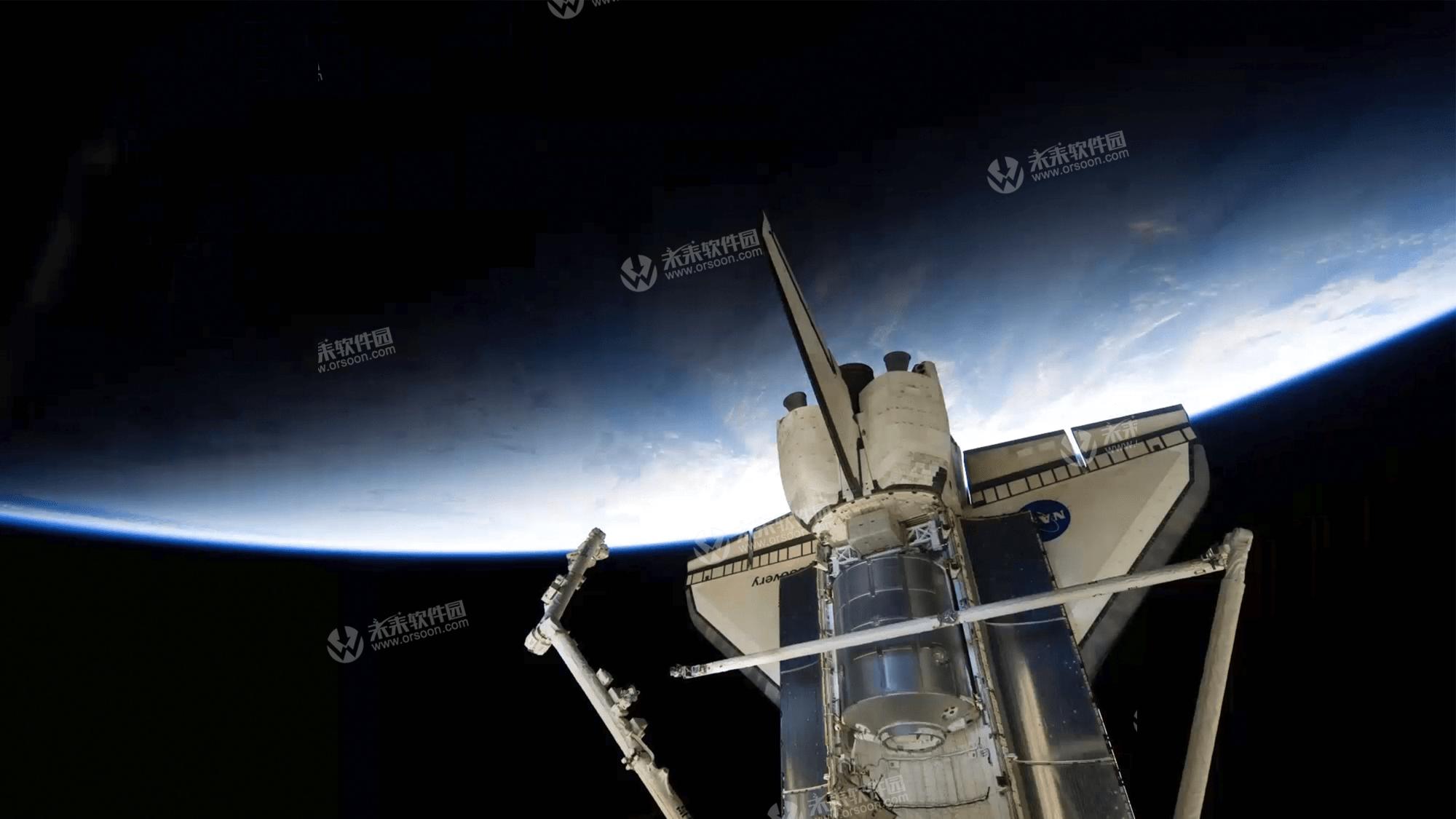 国际空间站看地球5k动态壁纸
