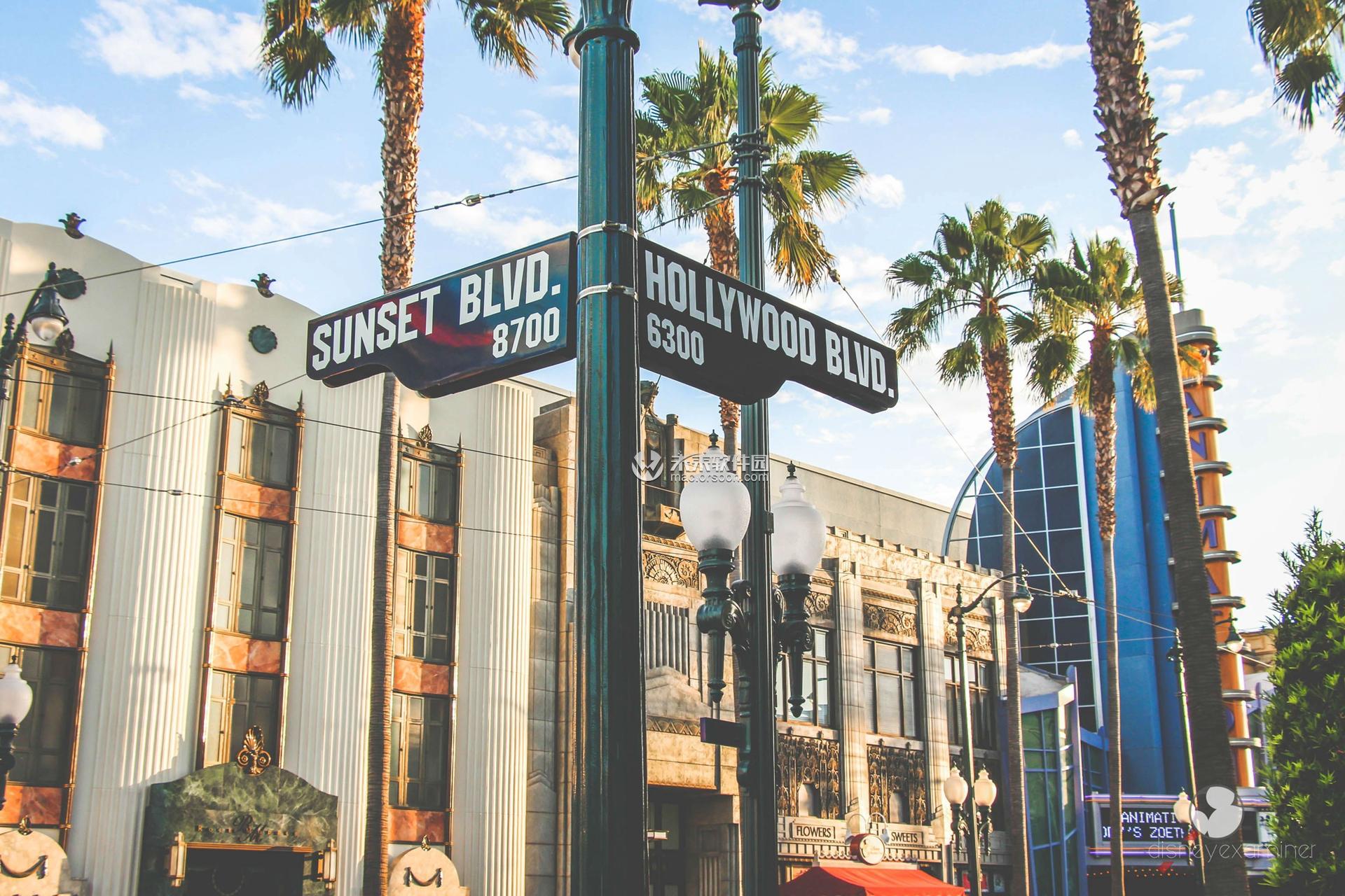 好莱坞大道动态壁纸