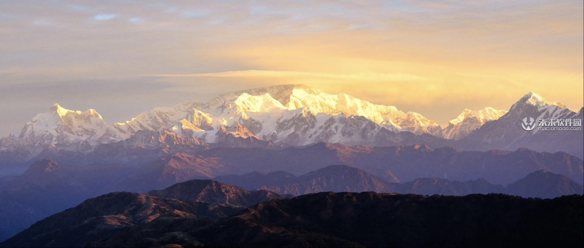 喜马拉雅山脉景观3k动态壁纸