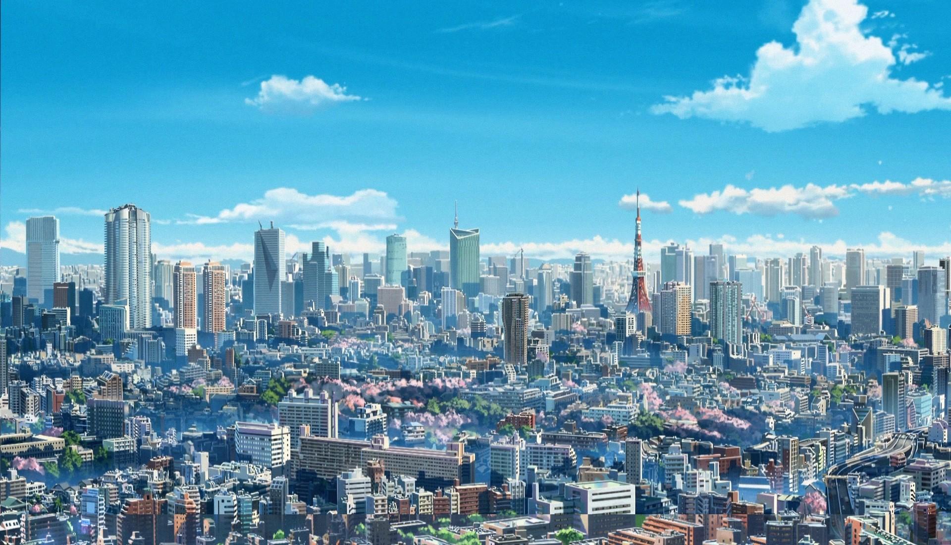 你的名字城市动态壁纸