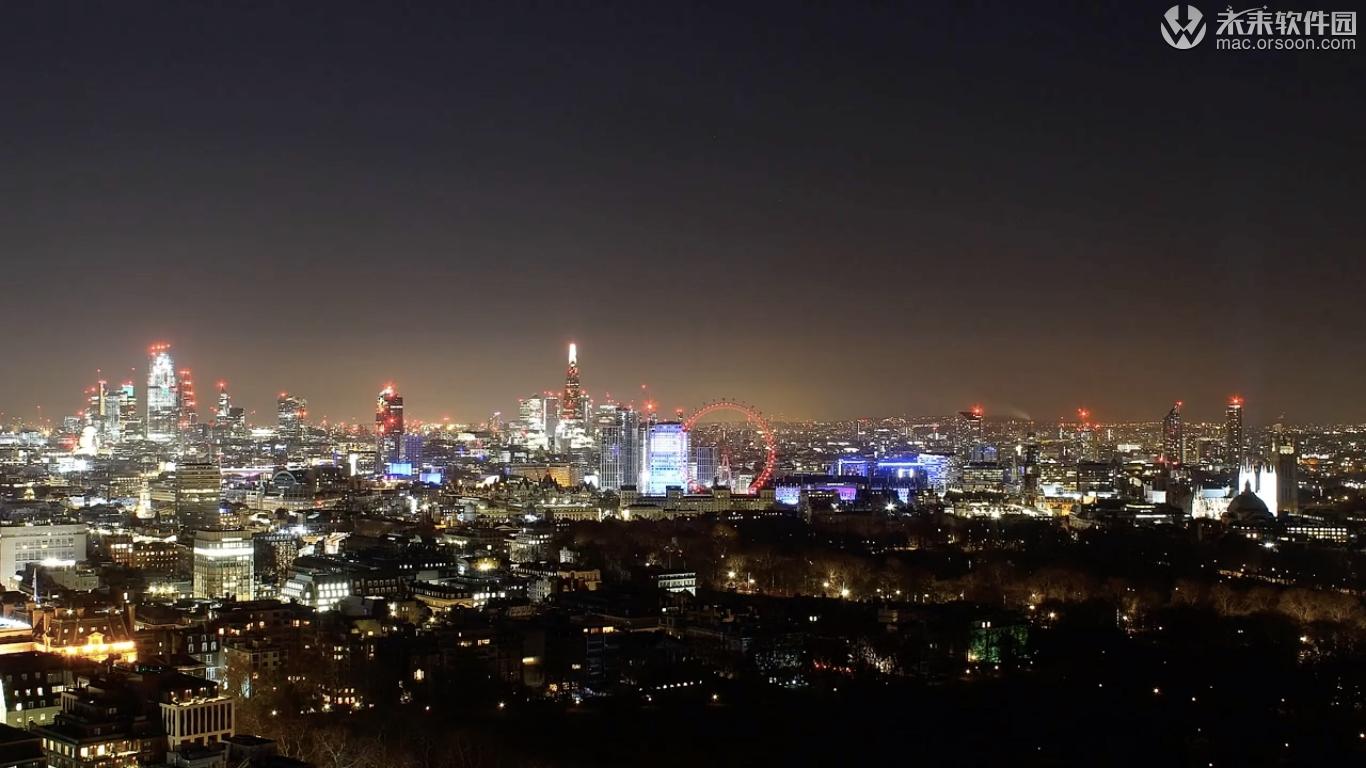 伦敦城市风景桌面动态壁纸