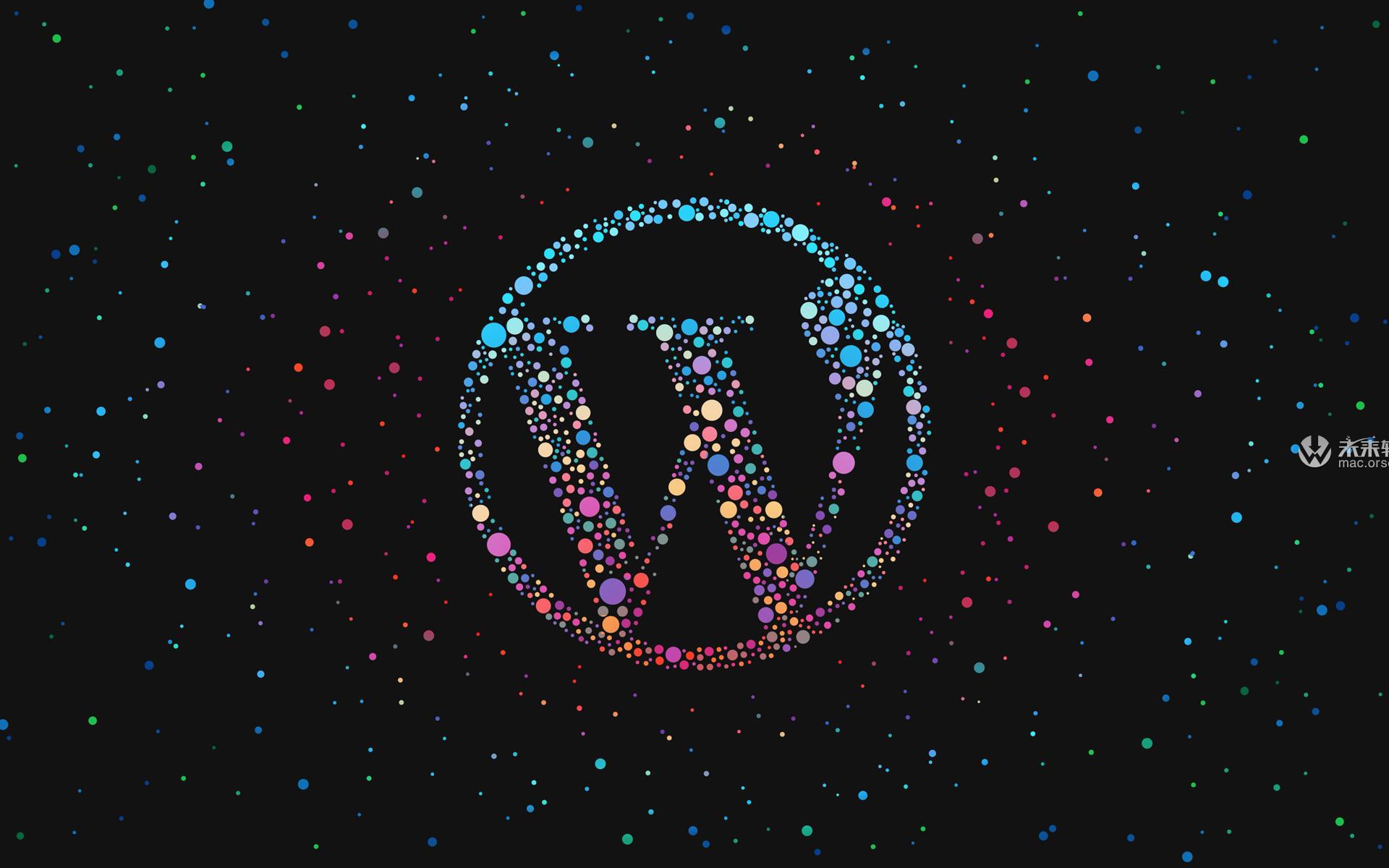 多样的WordPress图标8k动态壁纸