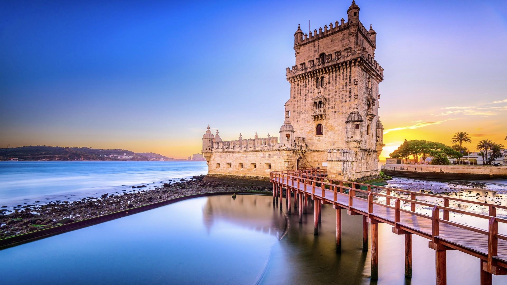 葡萄牙里斯本城市高清动态壁纸