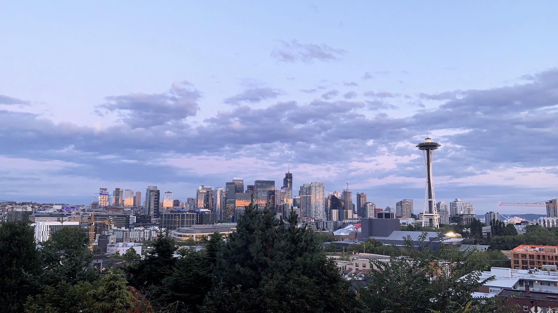 西雅图城市建筑高清动态壁纸