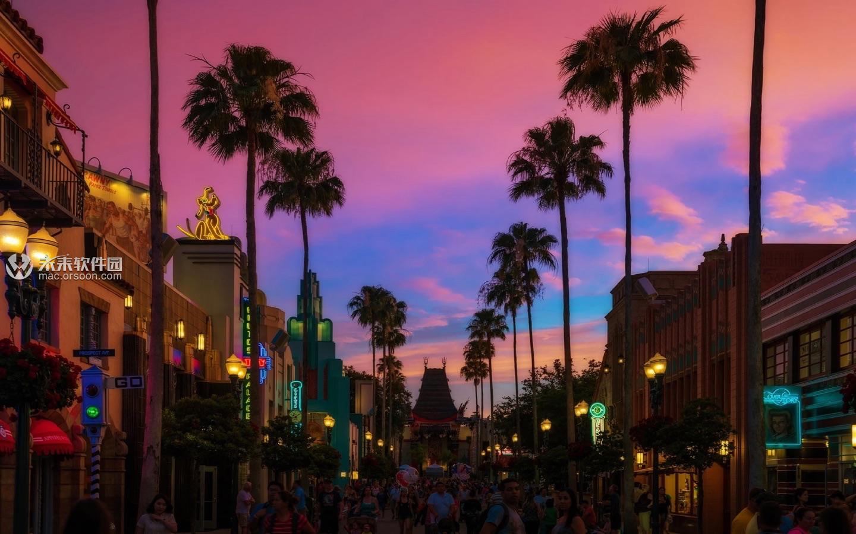 奥兰多迪士尼乐园风景动态壁纸