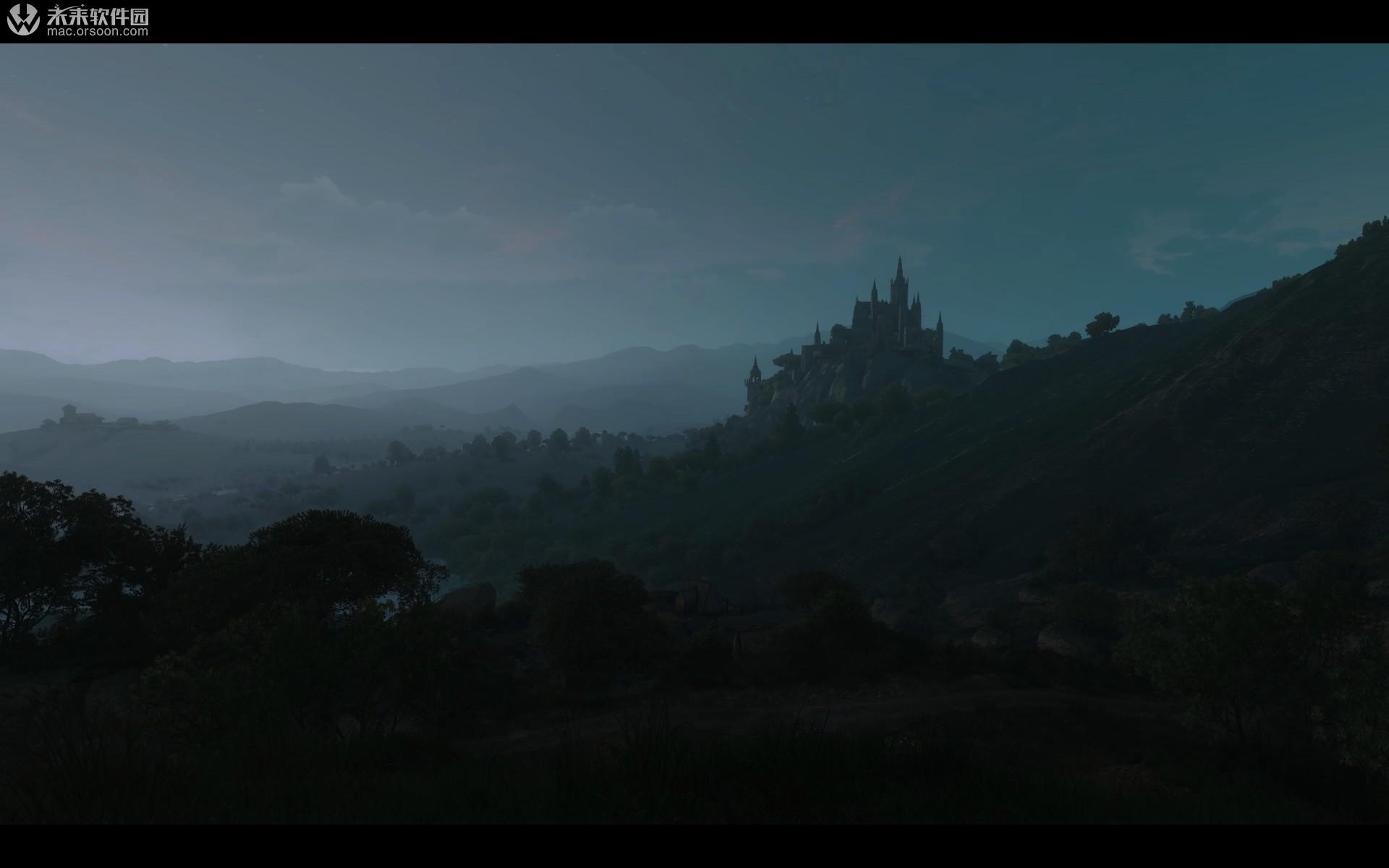 巫师3游戏风景桌面壁纸