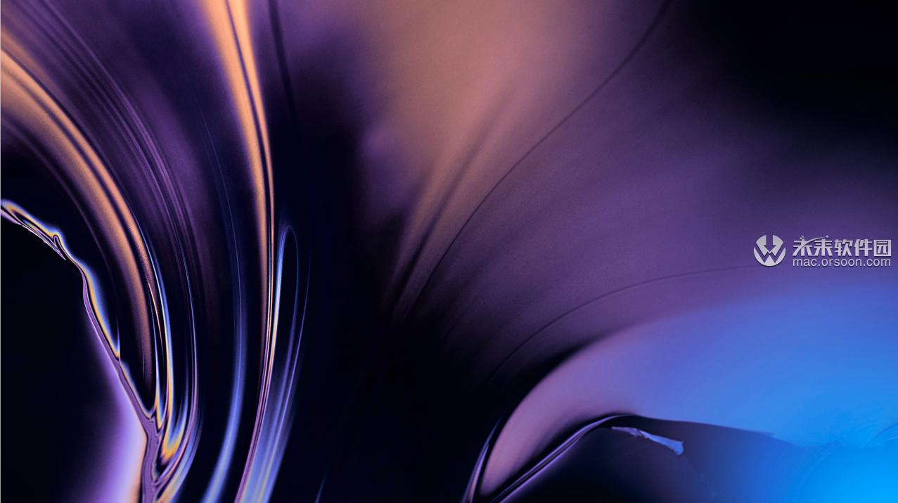 抽象蓝色调5K动态壁纸