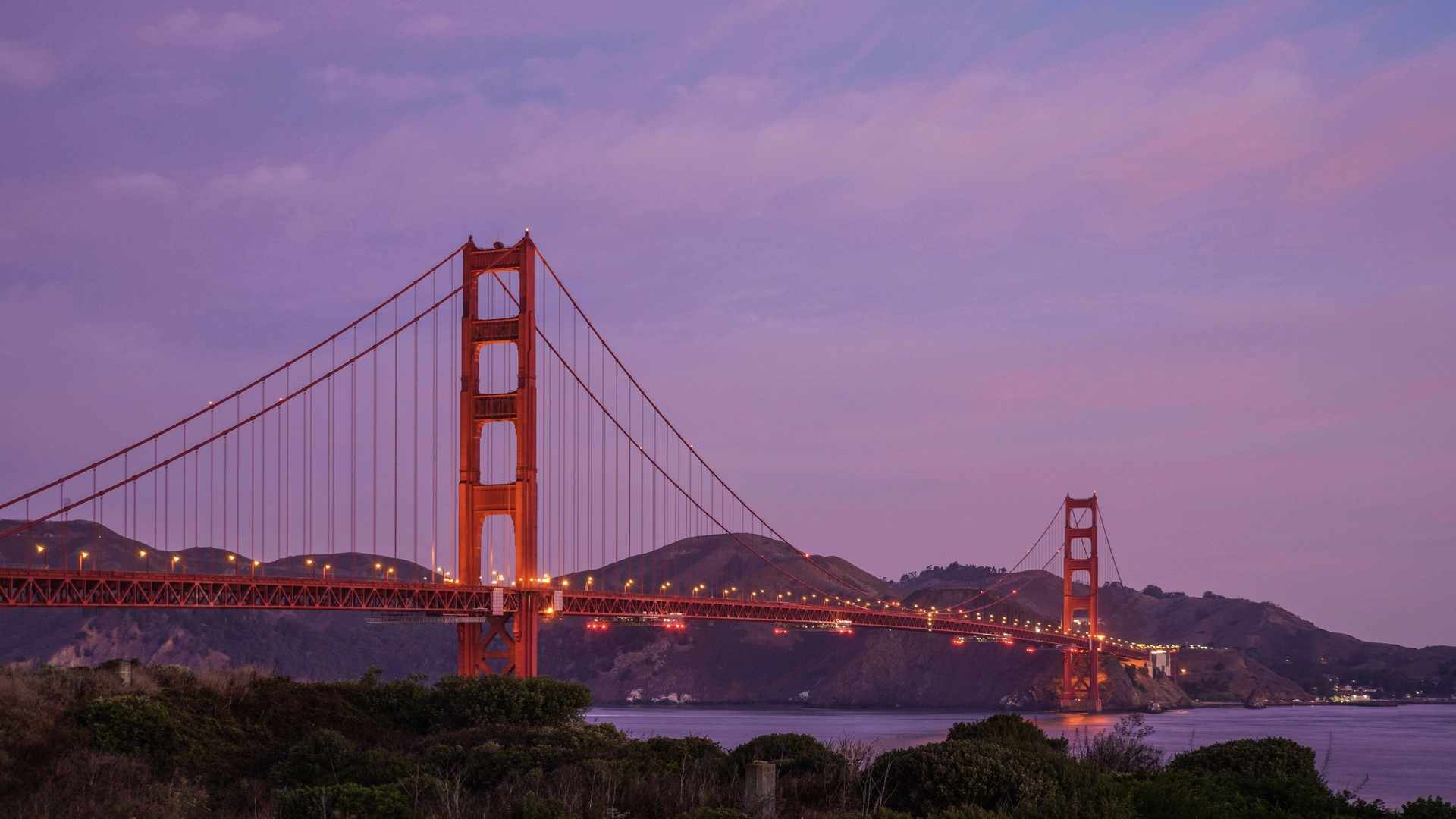 美国金门大桥风景动态壁纸