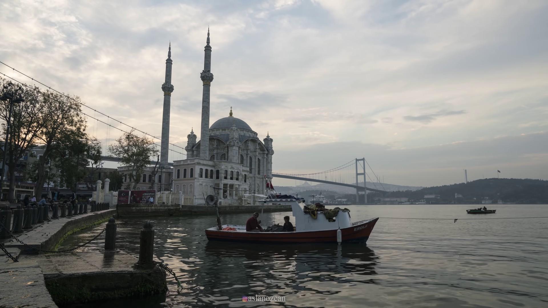 伊斯坦布尔美丽风景高清Mac动态壁纸