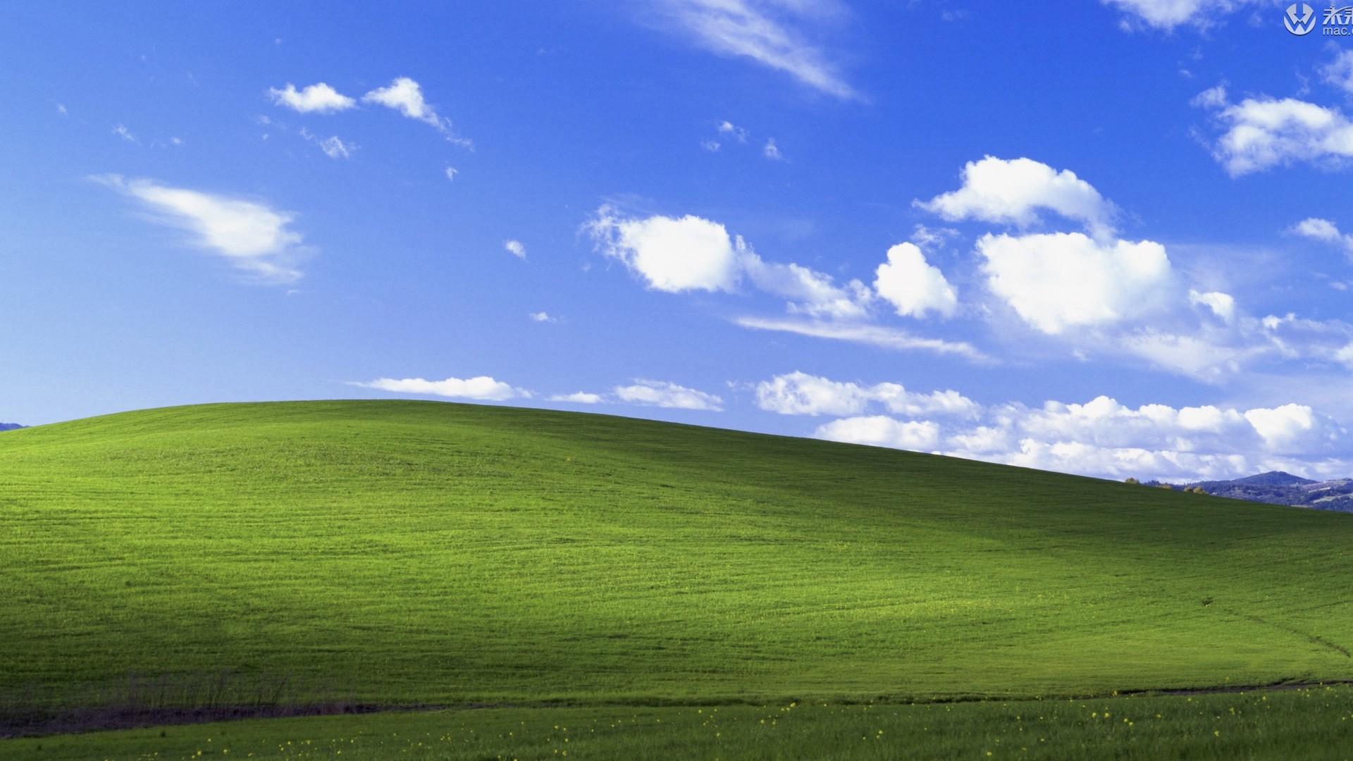 windows xp经典苹果电脑桌面壁纸