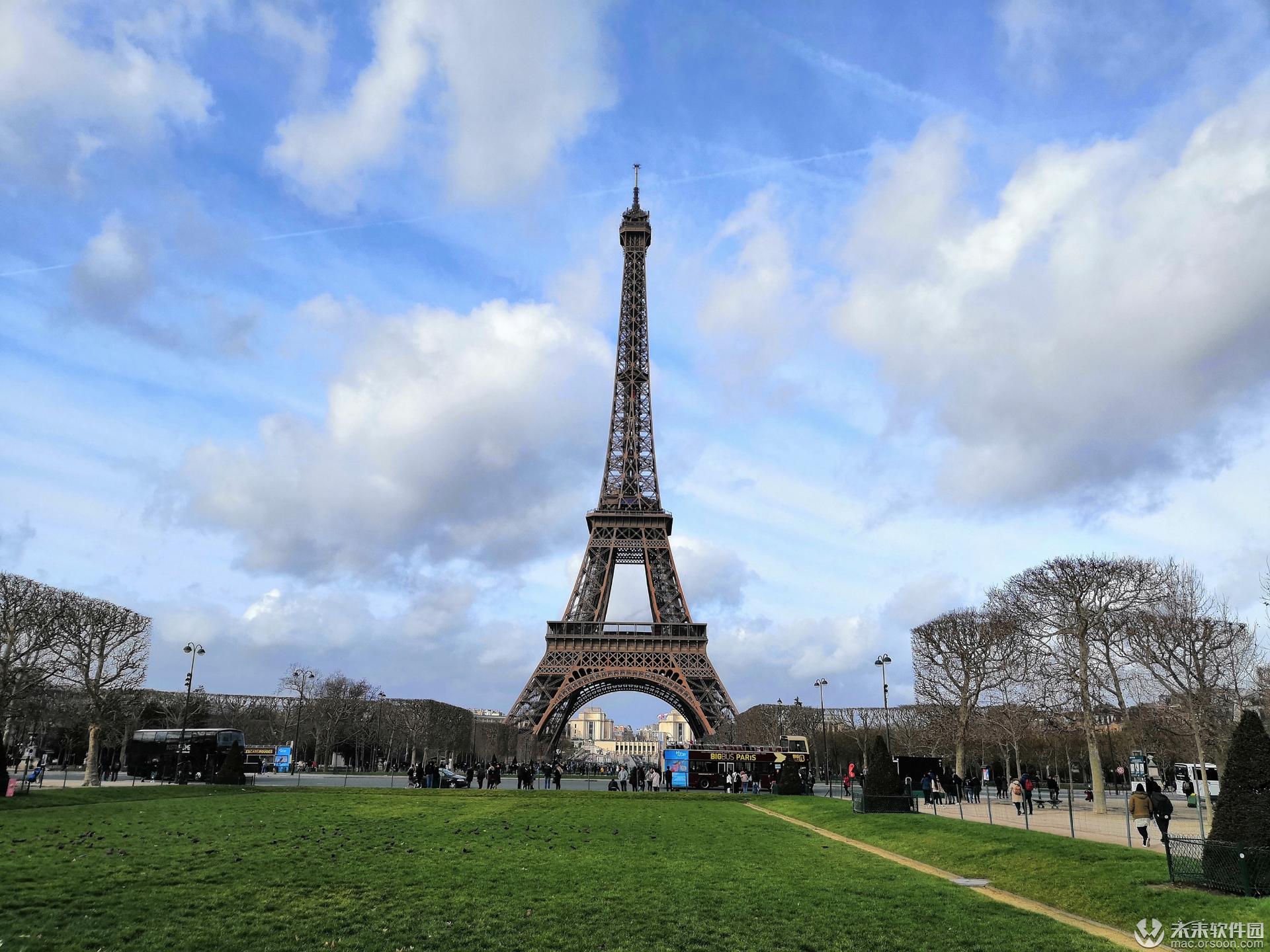 埃菲尔铁塔高清动态壁纸