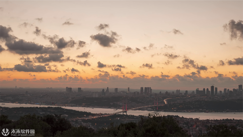 伊斯坦布尔海峡动态桌面壁纸