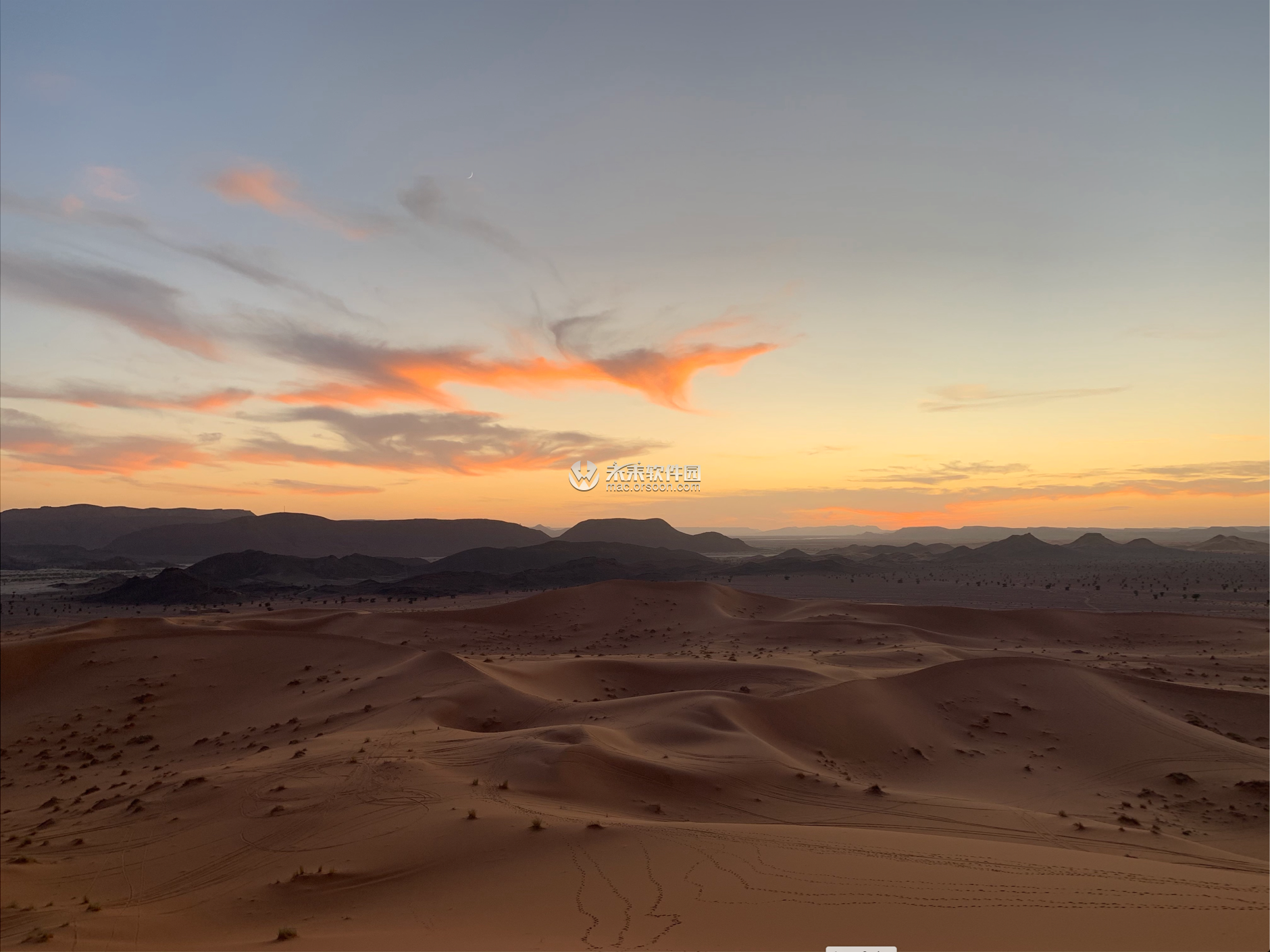 撒哈拉沙漠动态壁纸