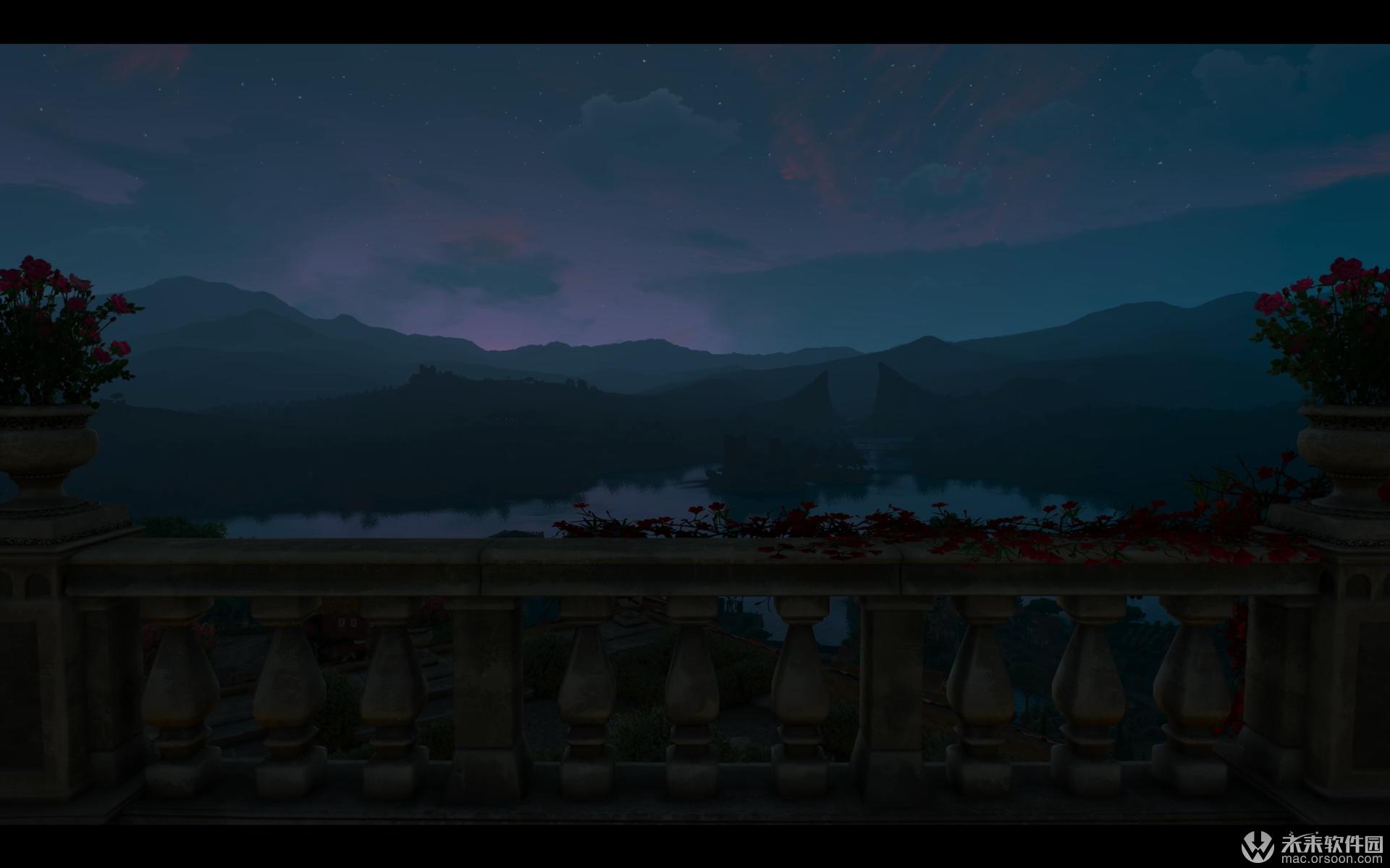 巫师3图森特游戏高清动态壁纸
