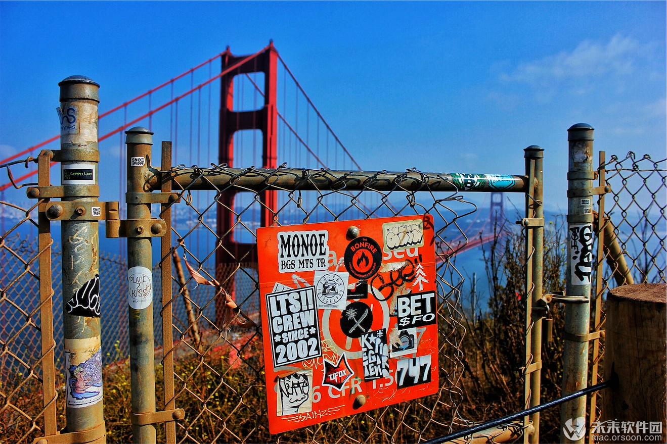 金门大桥动态桌面壁纸