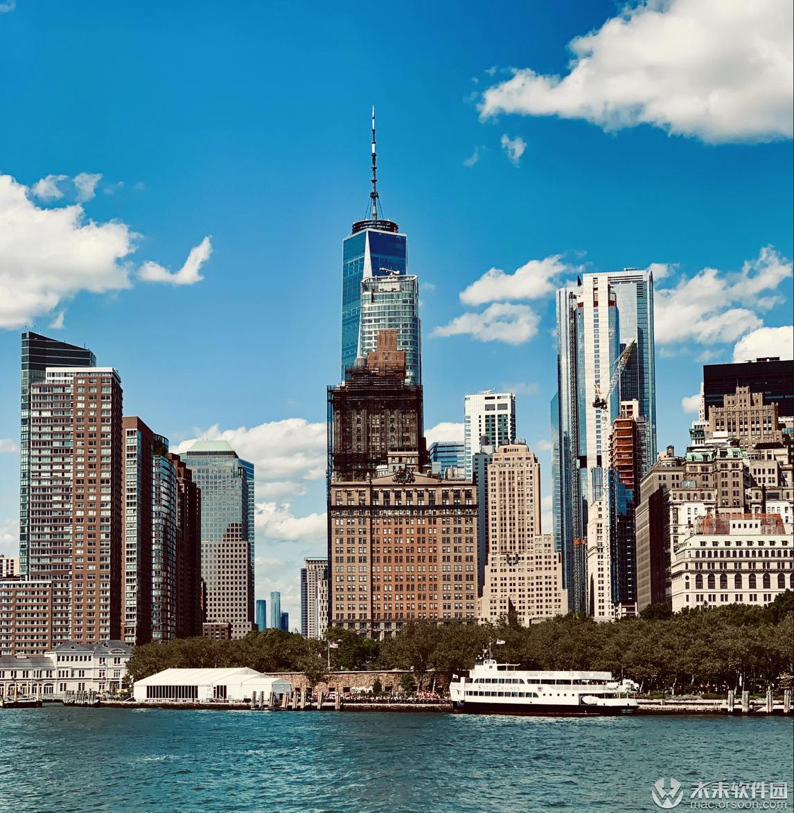美国纽约摩天大楼动态壁纸