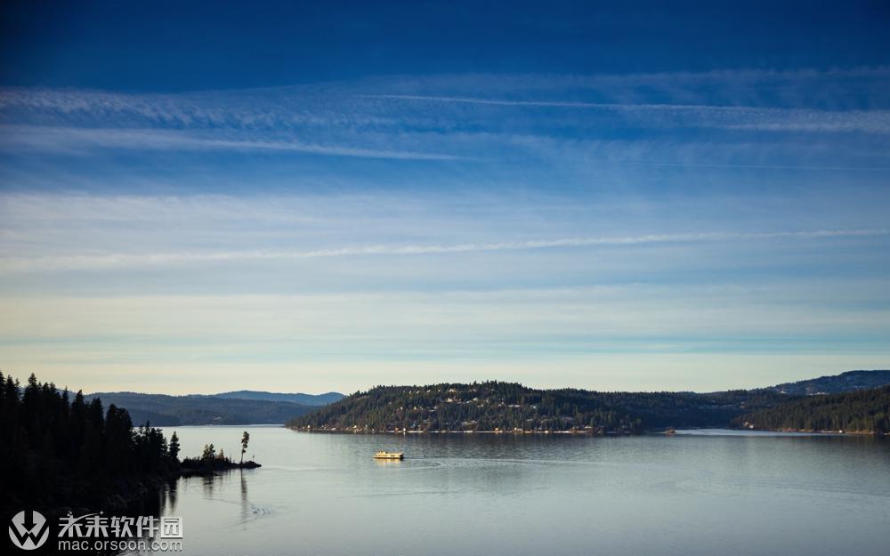 美丽湖泊Mac动态壁纸