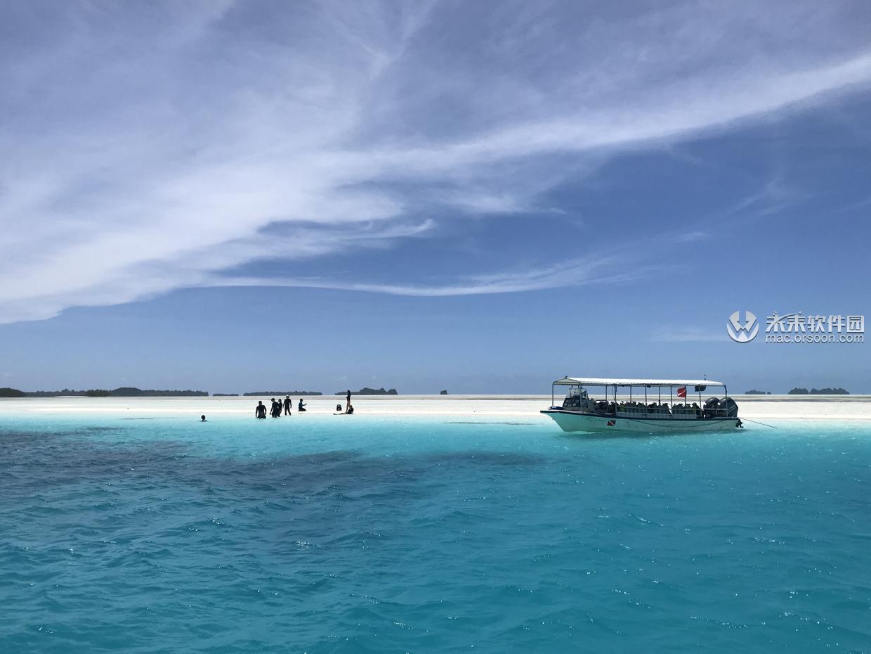 帕劳海岛风景动态壁纸