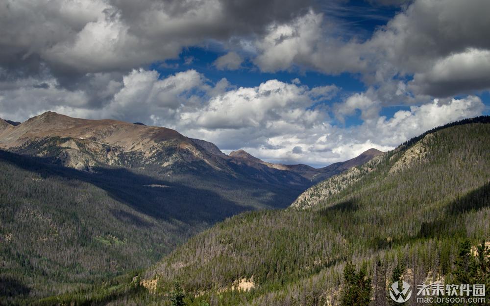 科罗拉多州自然风光动态壁纸
