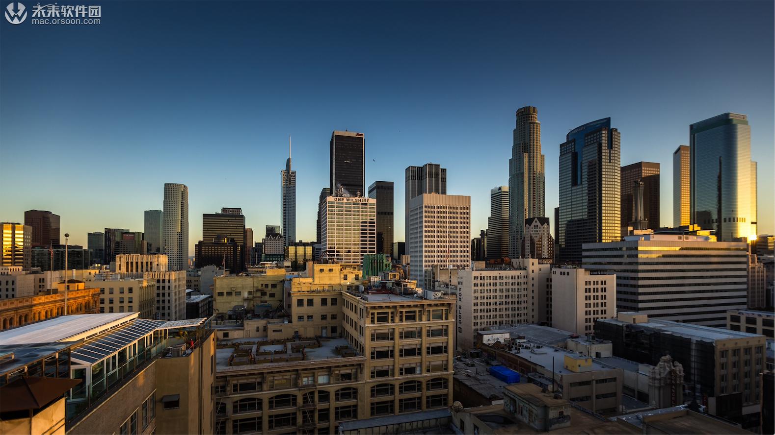 洛杉矶城市5K风景壁纸