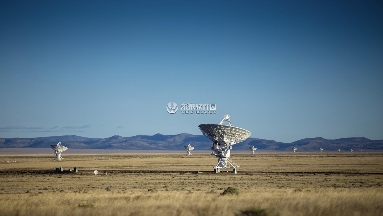 射电天文望远镜阵列5K动态壁纸