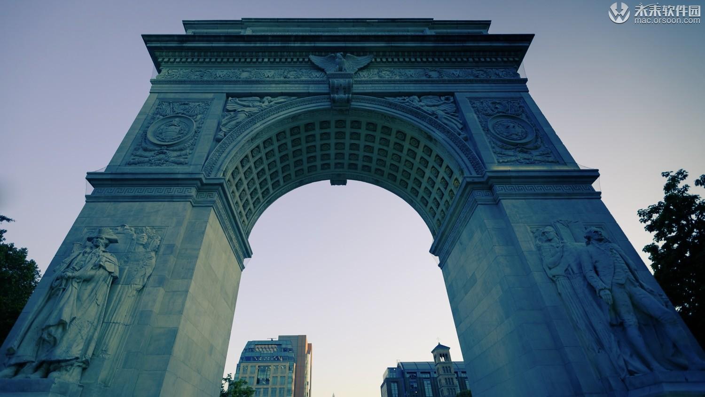 美国纽约城市风景5K动态壁纸