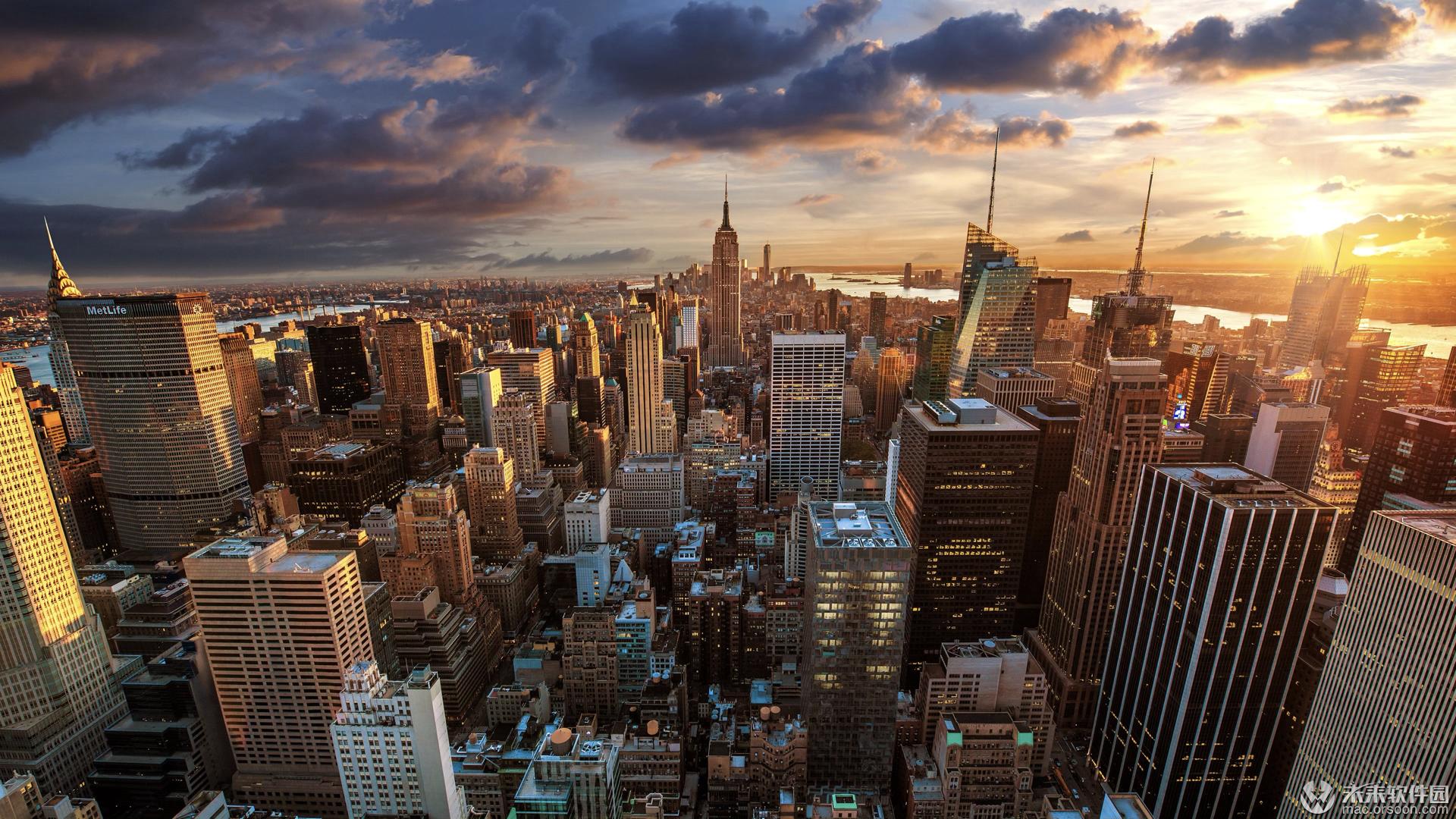 城市风景3k动态壁纸