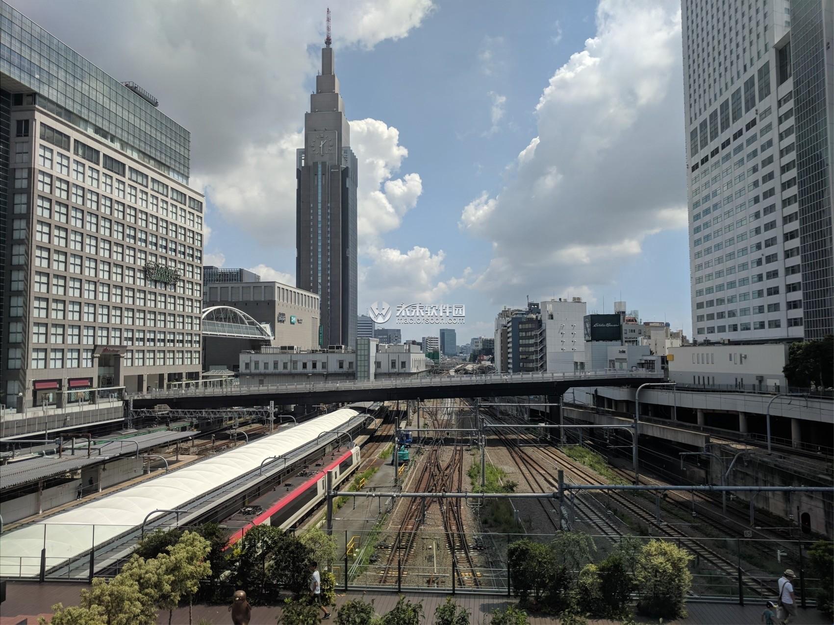 日本街道城市风景Mac动态壁纸