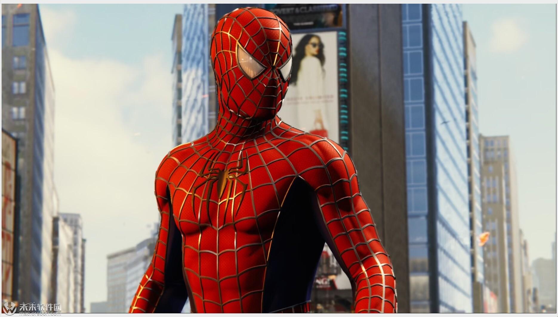 漫威蜘蛛侠Mac动态壁纸