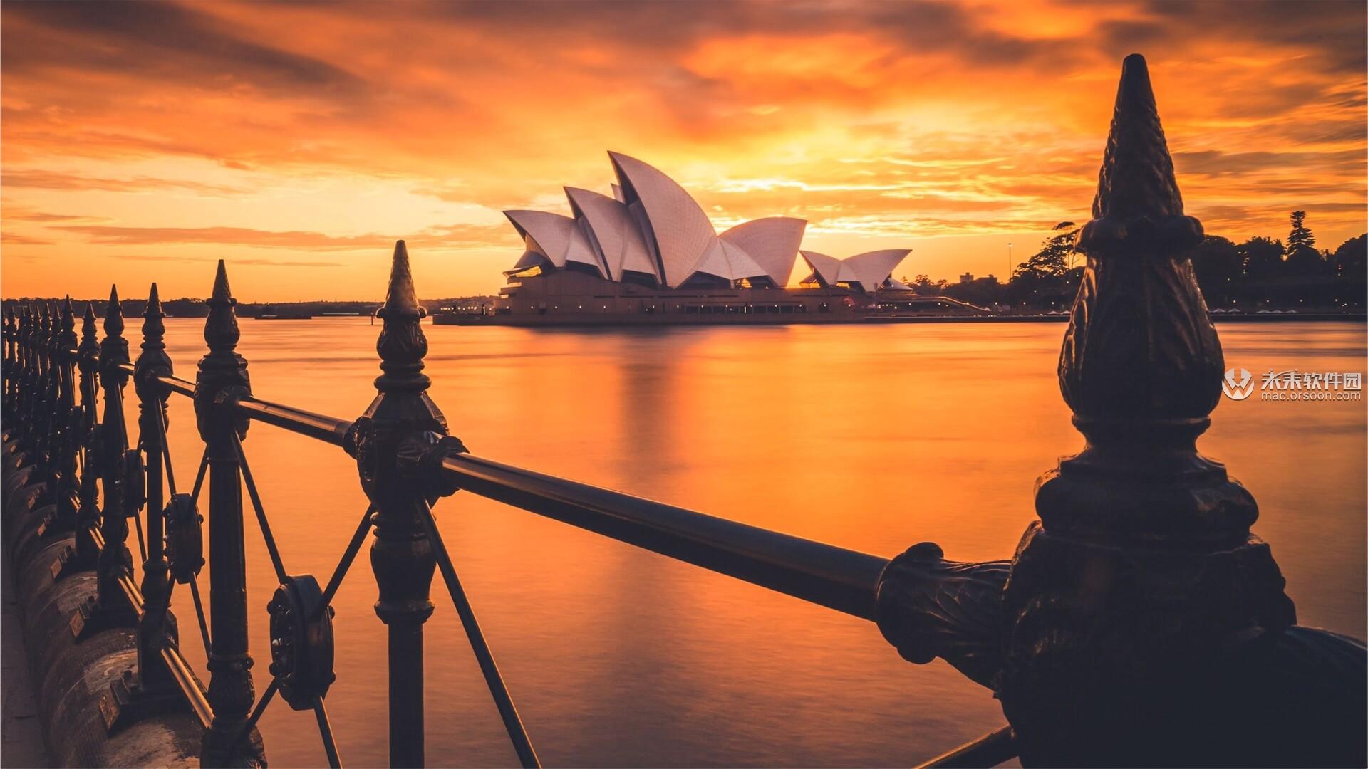 悉尼城市风光Mac动态壁纸