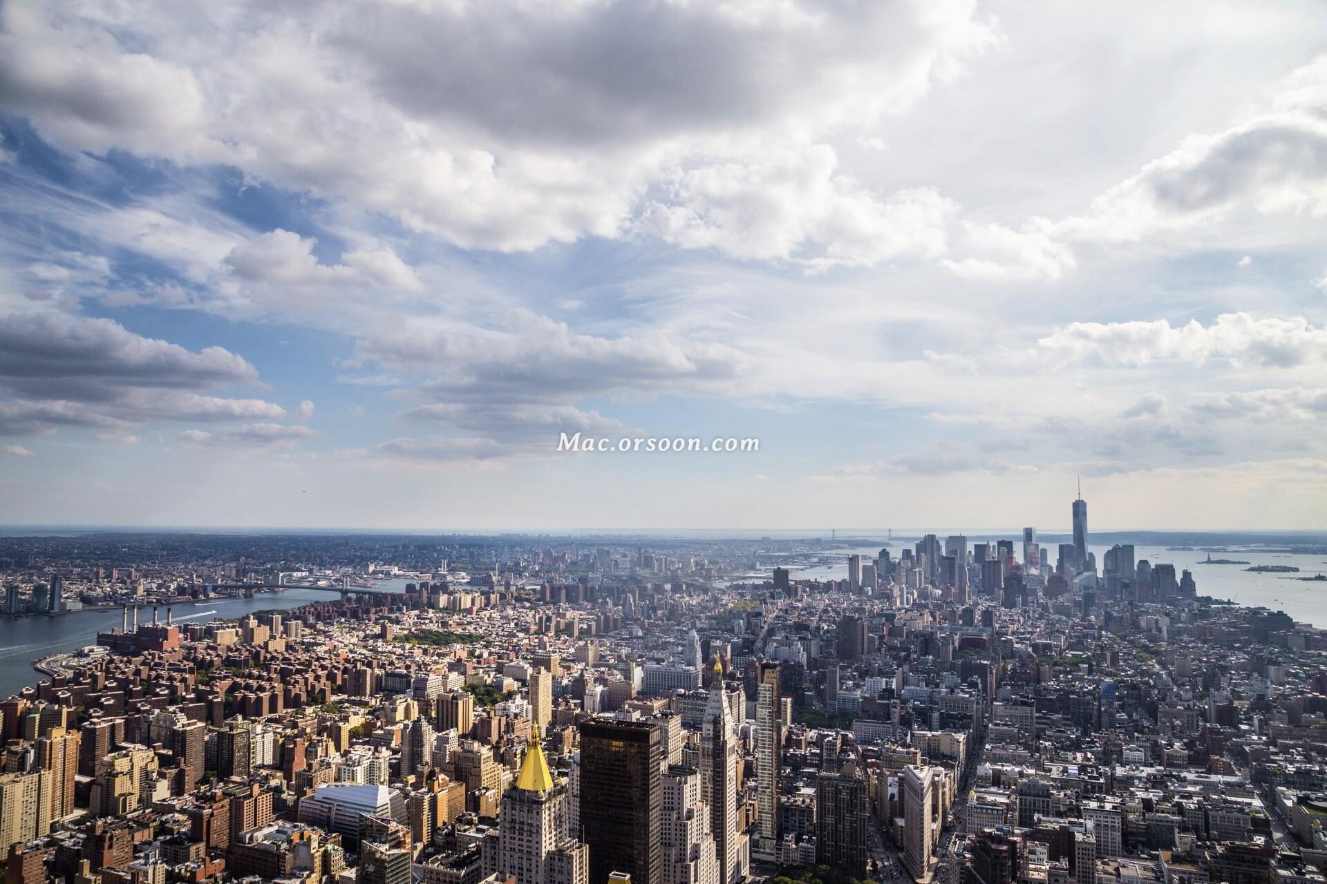 曼哈顿城市风景5k动态壁纸