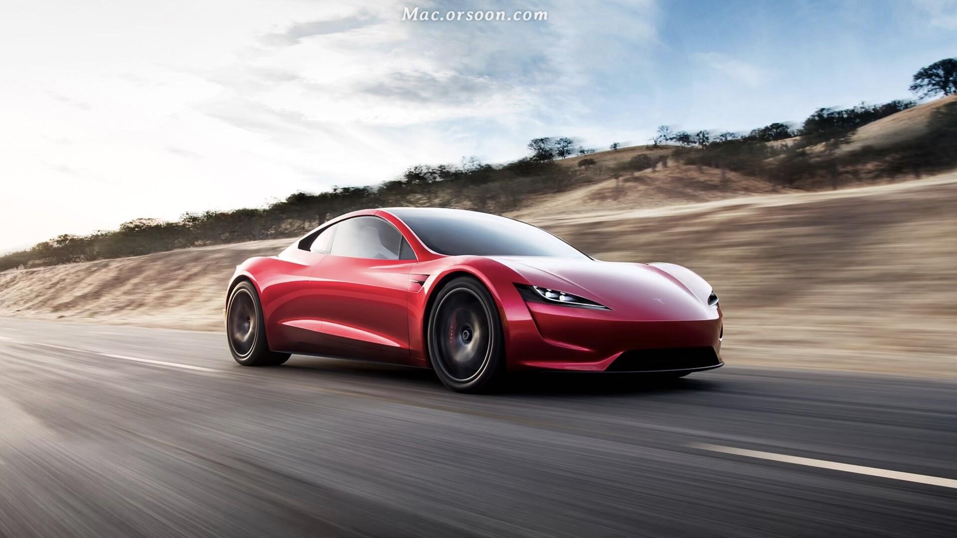 红色酷炫跑车动态壁纸