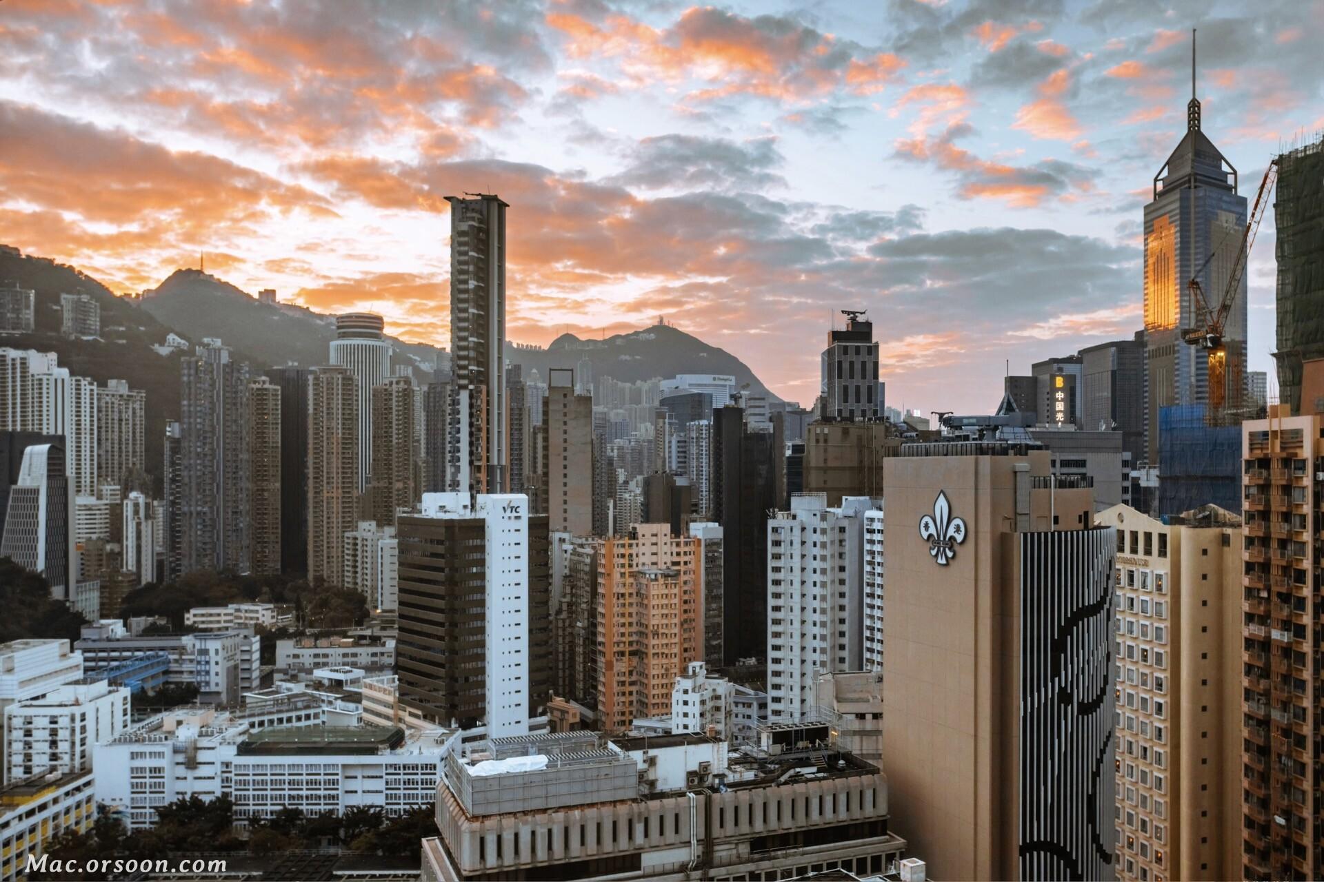 香港城市景观5k高清动态壁纸