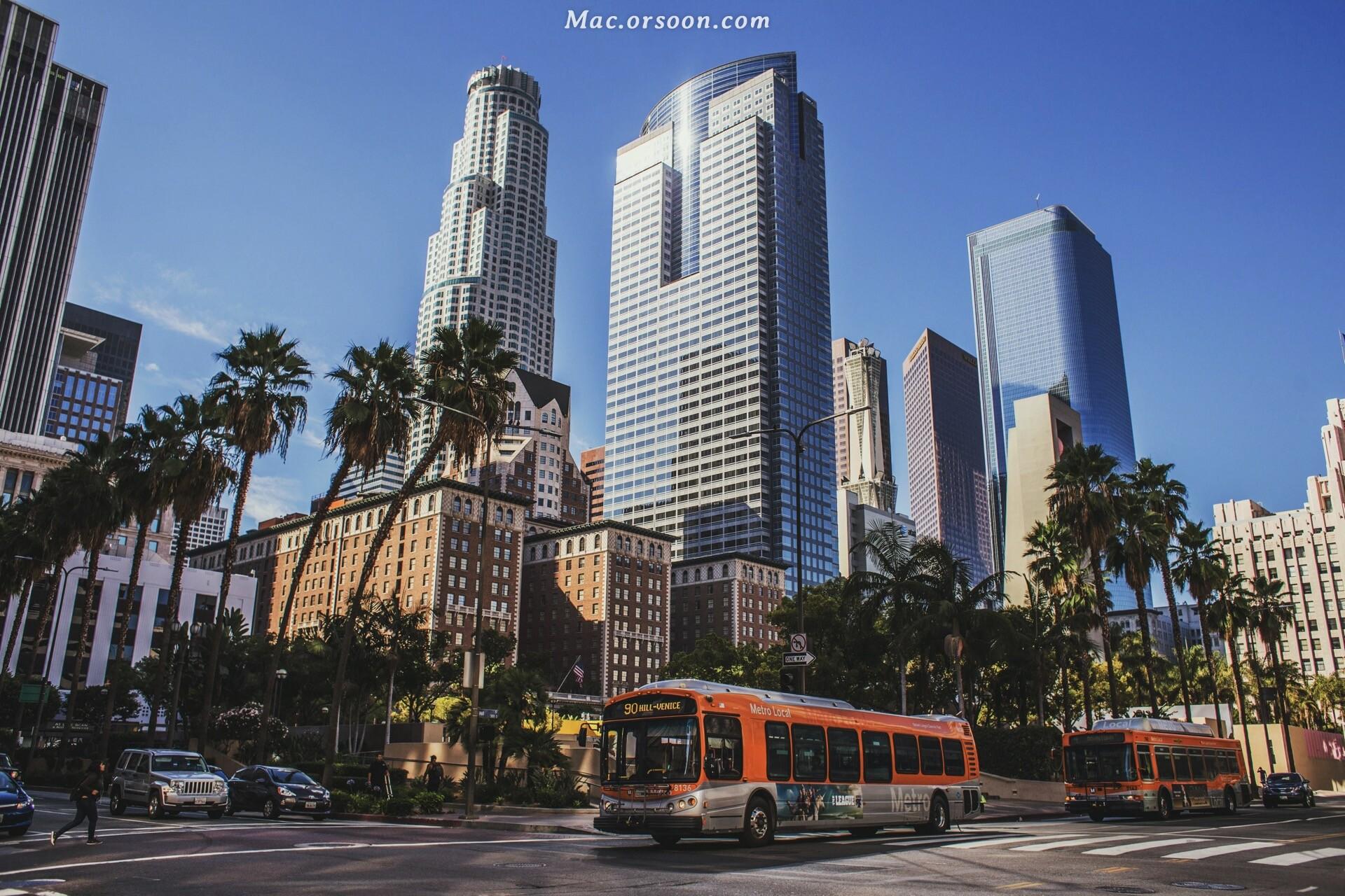 洛杉矶城市高清动态壁纸